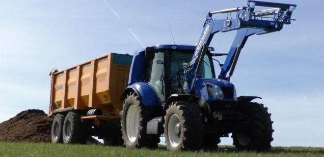 Comment le tracteur «Méthane Power» va être marketé !