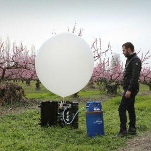 Des ballons à l'hélium intelligents pour lutter contre la grêle !