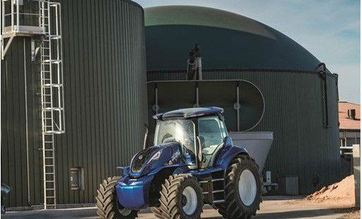Un nouveau concept de tracteur au méthane dévoilé !