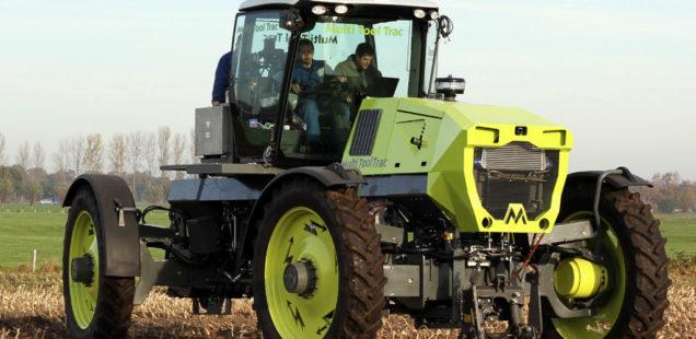 Que devient le «premier tracteur électrique» ?
