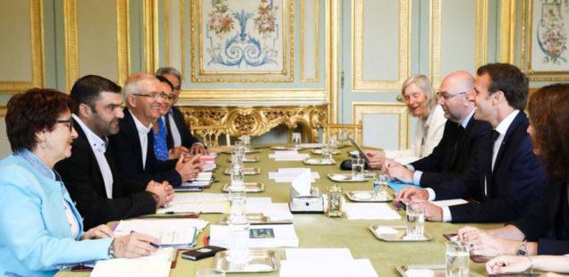 Egalim : Quelle a été la teneur des échanges entre Emmanuel Macron et les syndicats ?