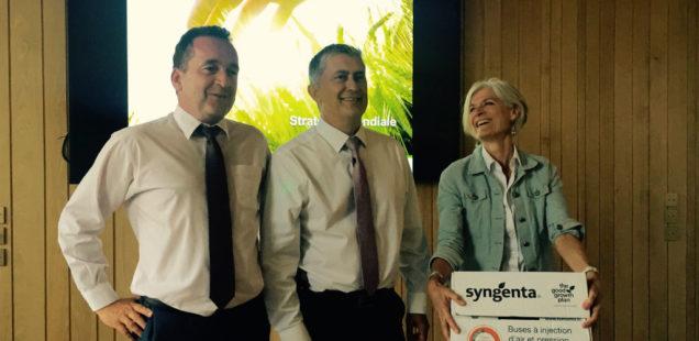 Conférence de presse Syngenta 2018