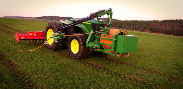 Un nouveau projet de tracteur électrique… alimenté par câble