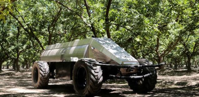 Etats-Unis : Un pulvérisateur autonome pour vergers commercialisé dès cette année