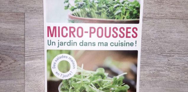 Les micro-pousses: une production adaptée à l'ultra-local?