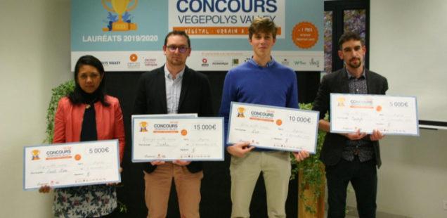 4 startups ont été mises à l'honneur dans le cadre du Concours Vegepolys Valley